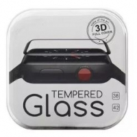 Защитное стекло Apple Watch 3D Full BOX оптом