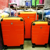 Комплект из двух чемоданов (оранжевые)