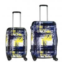 Комплект из двух чемоданов с рисунком