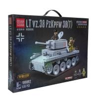 Конструктор танк QUAN GUAN lt vz.38 pz kpfw 38(t) оптом