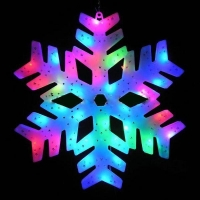 Светодиодная снежинка оптом