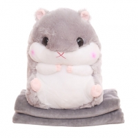 Плед-подушка хомяк