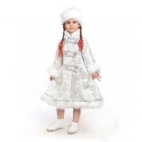 Детский костюм Снегурочки потьерный оптом