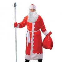 Костюм Деда Мороза велюровый оптом