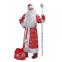 Костюм Деда Мороза фейерверк оптом