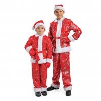 Комплект детских костюмов Санта-Клауса оптом