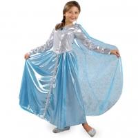 Детский костюм Принцессы голубой оптом