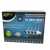 Комплект видеонаблюдения XPX 3704 оптом
