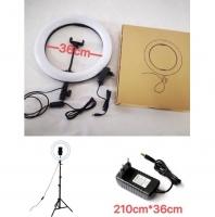 Светодиодная кольцевая лампа 36 см