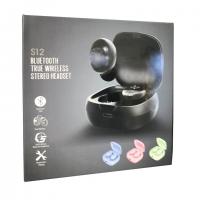 Беспроводные наушники Bluetooth true wireless stereo headset S12 оптом