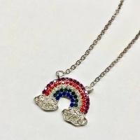 Ожерелье с подвеской Радуга оптом