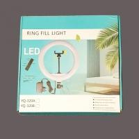 Светодиодная кольцевая лампа YQ-320A 30 см оптом