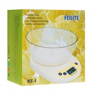 Весы кухонные FEILITE KE-1