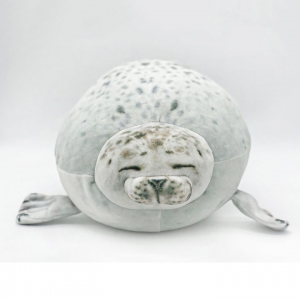 Мягкая игрушка тюлень 35 см оптом