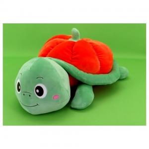 Мягкая игрушка Черепашка-тыква 35 см оптом
