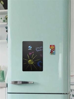 Меловая Доска на холодильник Малая для рисования+мел