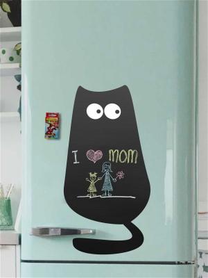 Меловая Доска на холодильник Кот№1 Большой для рисования+мел
