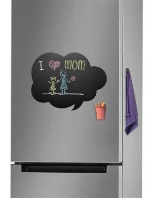 Меловая Доска на холодильник Смска для рисования комплект