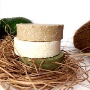 Твердый Шампунь Greena Avokadova-Ecohair. 100% природный. Подходит больше обладателям сухих пористых волос.