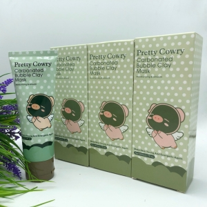 Маска для лица  Pretty Cowry Care Carbonated Bubble Clay Mask оптом