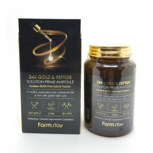 Сыворотка для лица 24K Gold&Peptide оптом