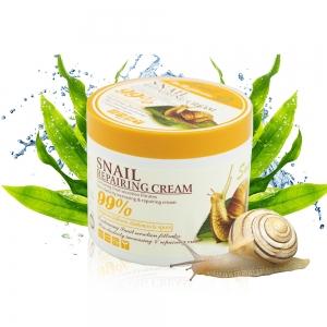 Крем-гель Wokali Snail Repairing Cream