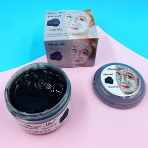 Маска для лица Dear She Charcoal Bubble Carbonated Clay Mask оптом
