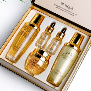 Набор анти-эйдж BIOAQUA 24K PURE GOLD оптом