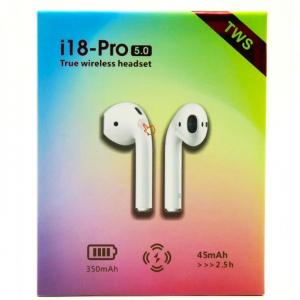 Беспроводные наушники TWS i18-Pro