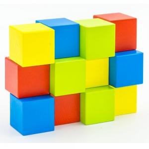 Набор Кубики окрашенный