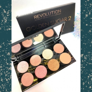 Тени для век London Revolution Makeup Golden Sugar 2 оптом