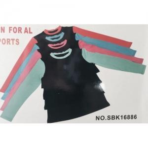 Кофта Хот-Шейперс с цветными рукавами