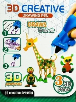 Игрушка 3d РУЧКА 3d creative drawing pen