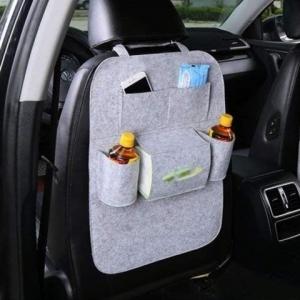 Автомобильный органайзер для спинки сиденья (Серый)