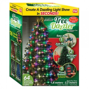 Гирлянда елочная конусная из светодиодов TREE Dazzler