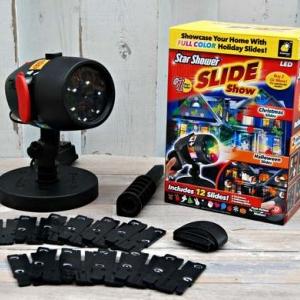 Лазерный проектор Star Shower Slide 12 слайдов