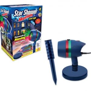 Новогодний лазерный проектор Star Shower Motion