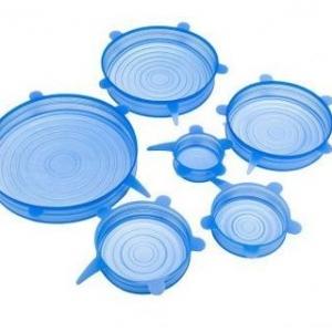 Набор силиконовых крышек 6 шт (СТО)