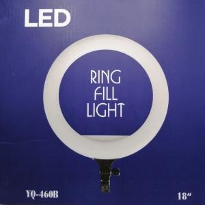 Светодиодная кольцевая лампа с пультом Yq460b 42 см