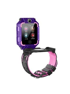 Детские GPS часы T10S (4G LTE), Фиолетовый