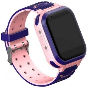 Детские GPS часы T3 (4G LTE), Фиолетовый/розовый