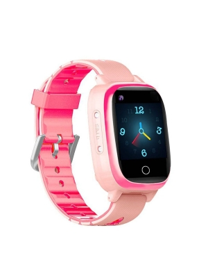 Детские GPS часы T5S (4G LTE), Светло-розовый/розовый
