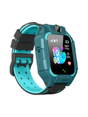 Детские GPS часы W02S, Зеленый