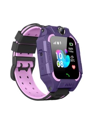 Детские GPS часы W02S, Фиолетовый