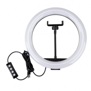 Светодиодная кольцевая лампа RGB LED MJ10 - 45 см оптом