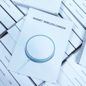 Магнитное зарядное устройство QI Magnet Wireless Charger оптом